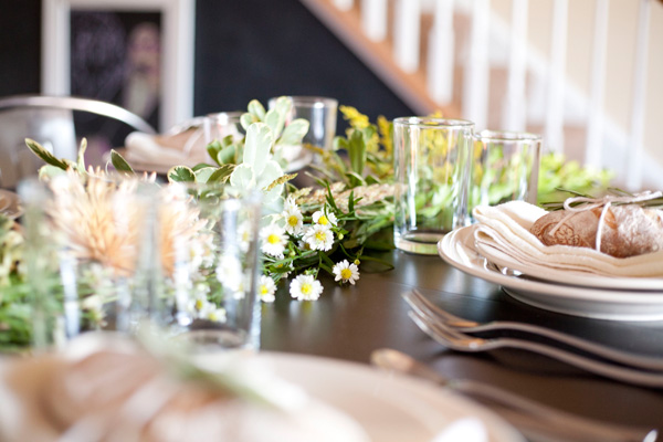 progressive dinner party / a thousand threads