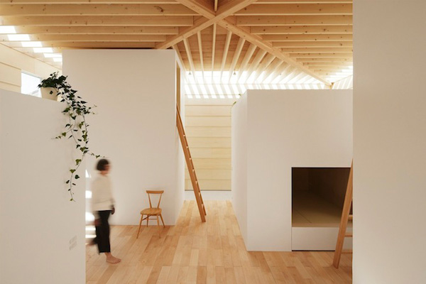 light walls / a thousand threads #architecture #home #design