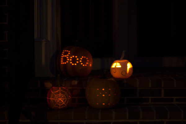 pumpkin party / a thousand threads