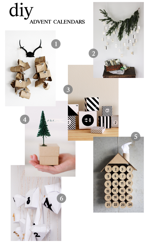 diy advent calendars / a thousand threads