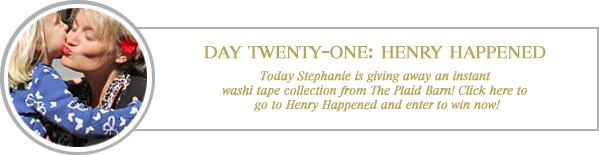 24 merry days / henry happened
