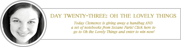 24 merry days / oh the lovely things