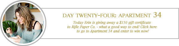 24 merry days / apartment 34