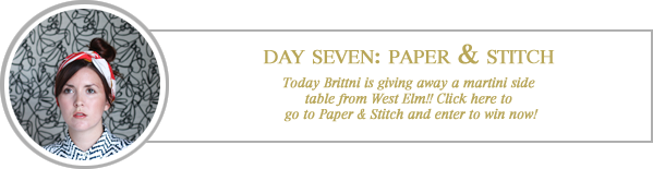 24 merry days / paper & stitch
