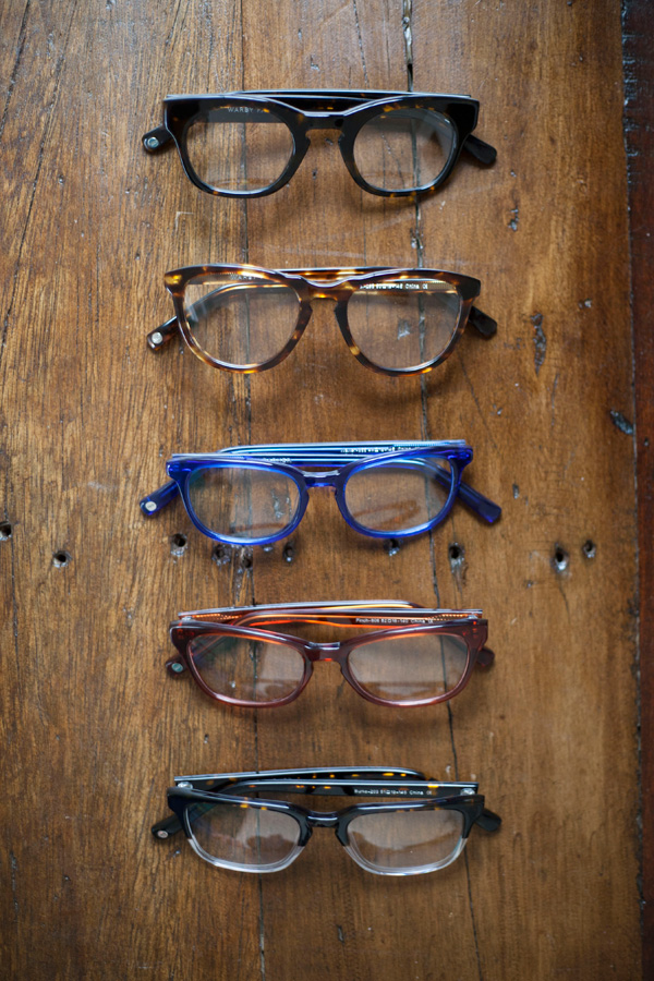 warby parker spring home try-on / a thousand threads
