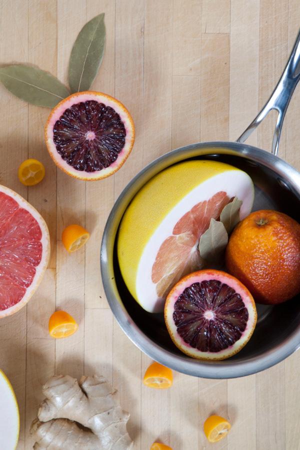 citrus hot pot home scent // a thousand threads