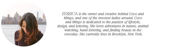 jessica // coco and mingo