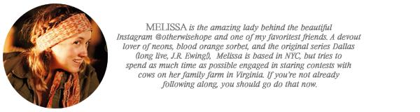 melissa // otherwise hope