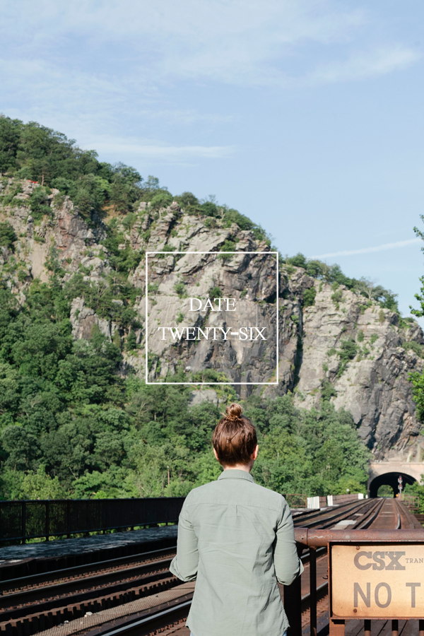 harpers ferry // 52 dates // a thousand threads