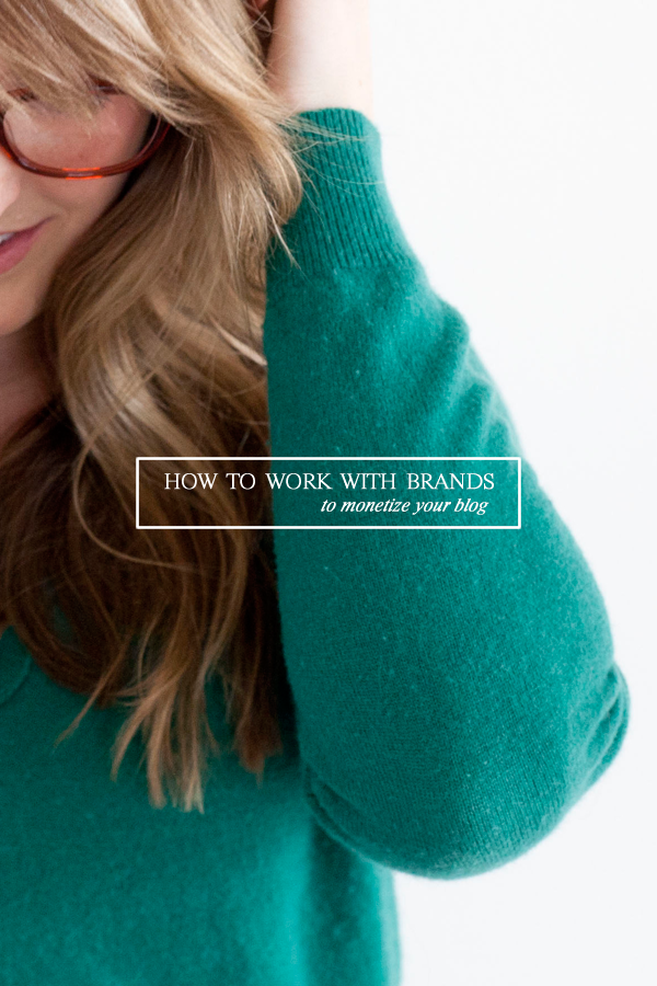 how to work with brands // a thousand threads