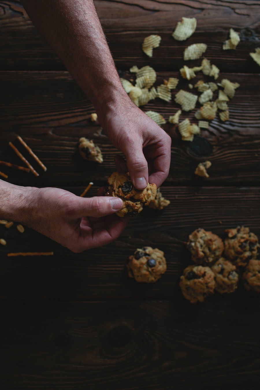 potato chip cookies // a thousand threads